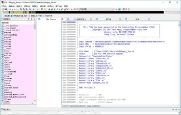 IDA反汇编工具